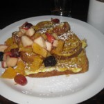french toast em cafe montreal