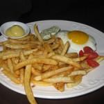 Steak frites M sur Masson