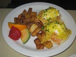 Eggs Benedict Le Coin G montreal Brunch