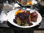 Ricotta Pancake at Vino