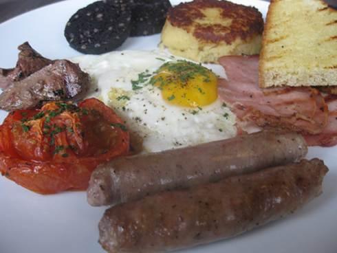 evoo full irish breakfast