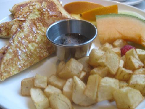 les influences french toast