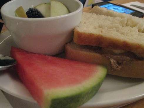 resonance brunch sandwich