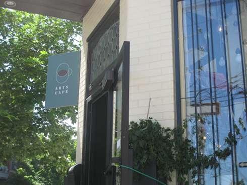 arts cafe montreal brunch exterir