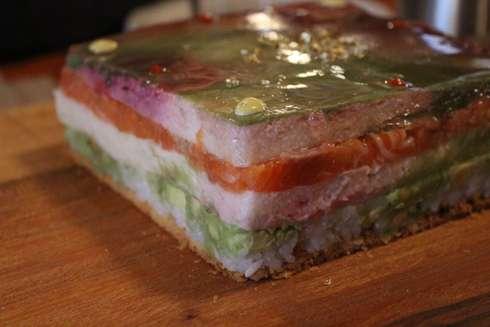 cabane a sucre pied de cochon sushi
