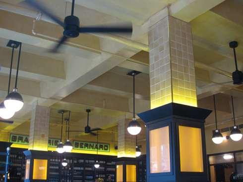 brasserie bernard interior