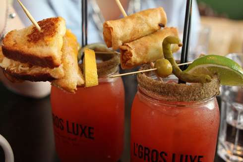 gros luxe montreal bloody caesar